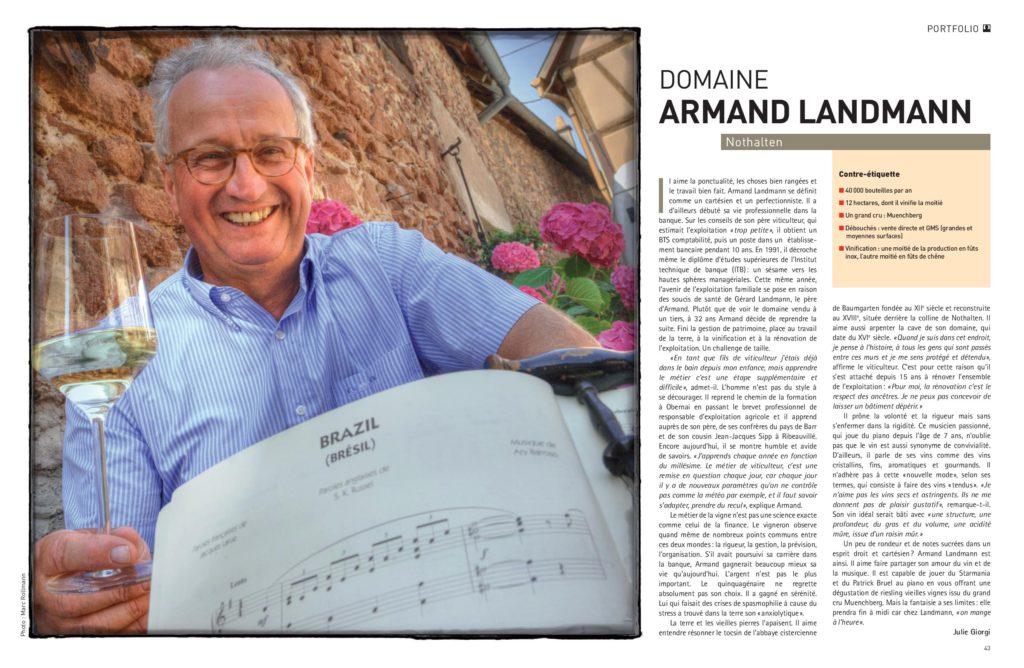 Vins d'Alsace Armand Landmann