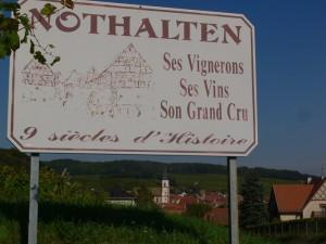 Nothalten, village viticole d'Alsace